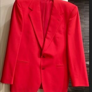 Versace Suits & Blazers - Versace men's red blazer 40r